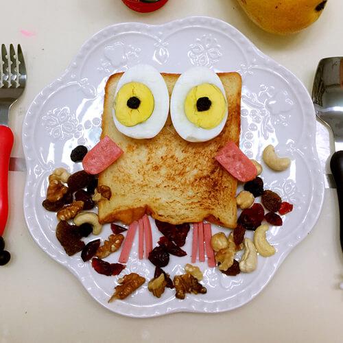美味的开学创意早餐