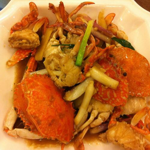 芝士焗蟹盒