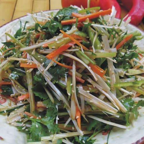 海参老虎菜
