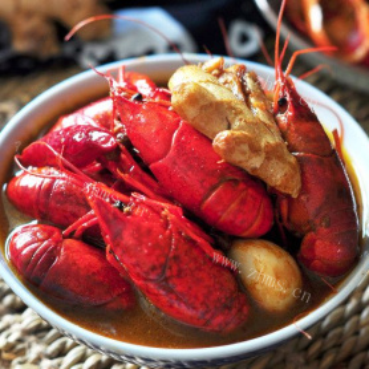 美味的江苏红烧小龙虾