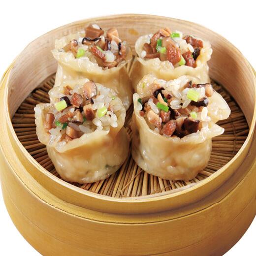 香菇糯米肉烧卖