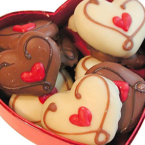 美味的爱心巧克力