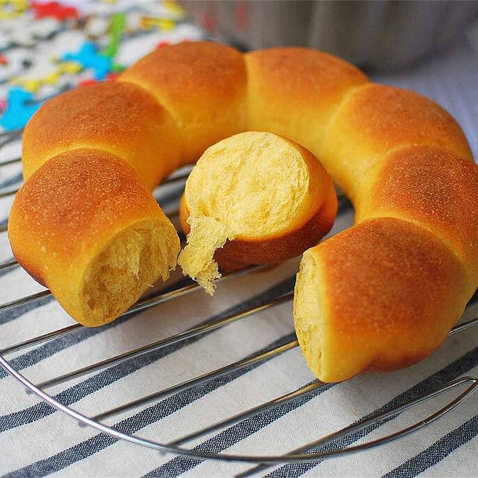 红薯面包卷