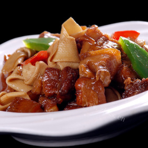 红烧肉片豆腐