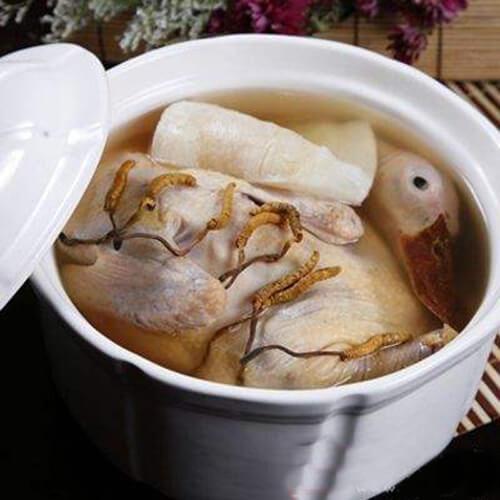 紫苏水鸭煲