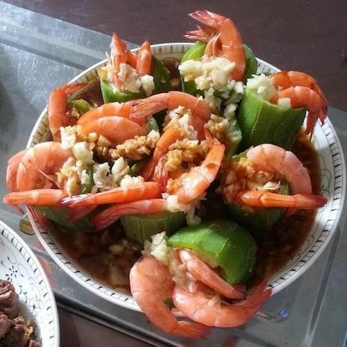 魚露丝瓜虾