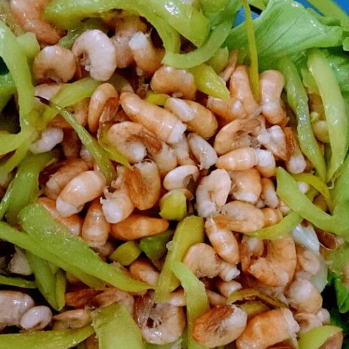鲜炒小河虾