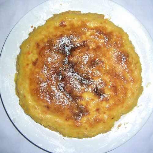 豆腐玉米面饼