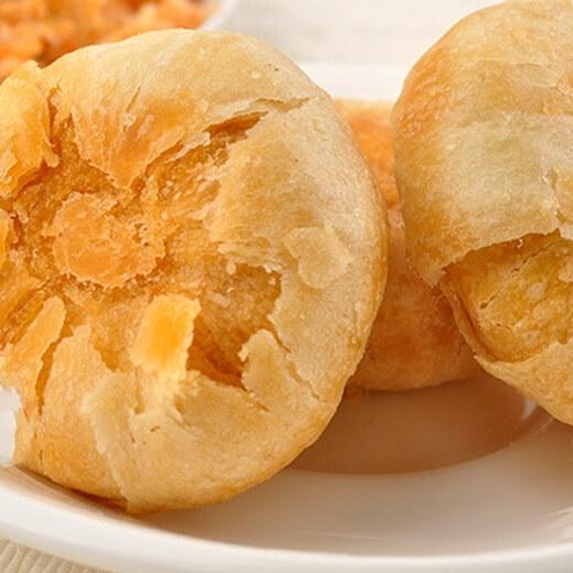 海苔肉松早餐饼