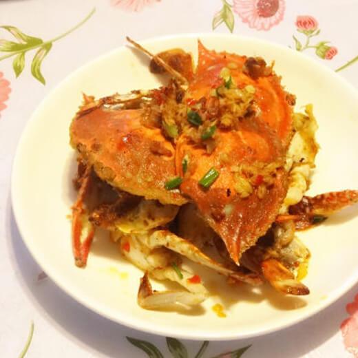 蒜蓉梭子蟹