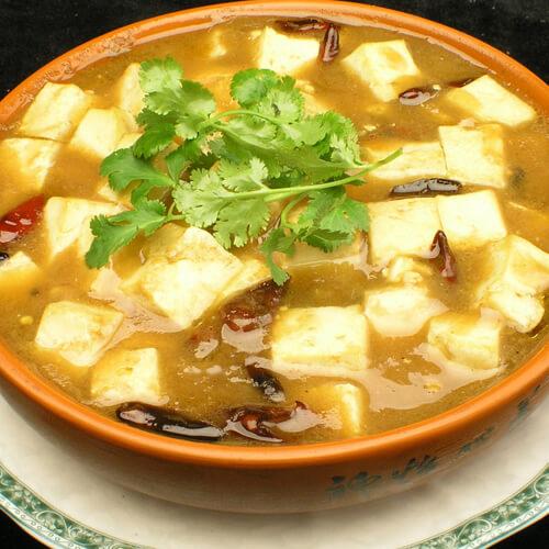 美味的雪里红炖豆腐