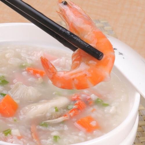 香菇蛤蜊海鲜粥
