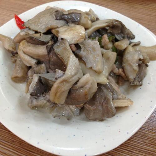 营养美食之蘑菇炒肉