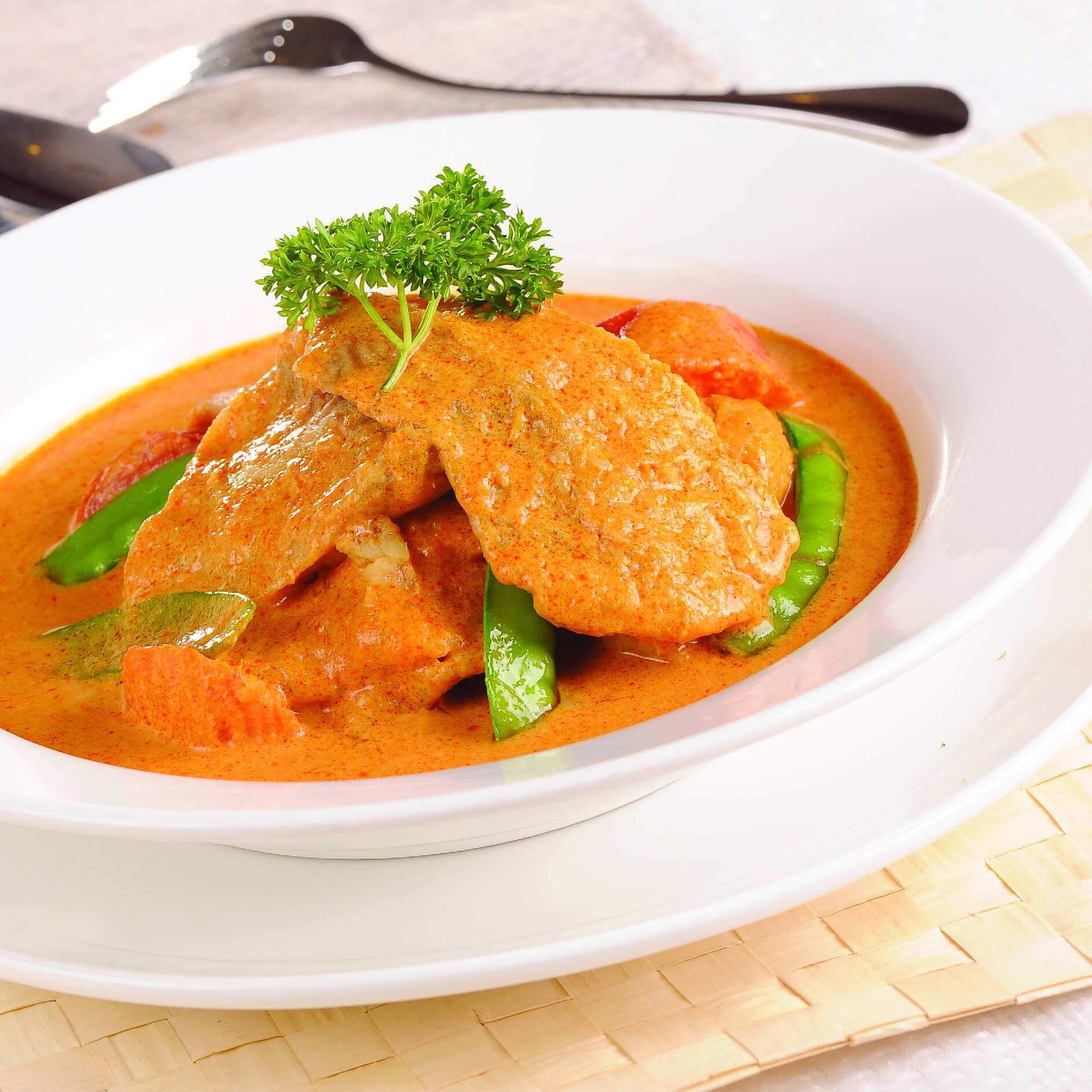 低脂开胃的咖喱椰香鱼