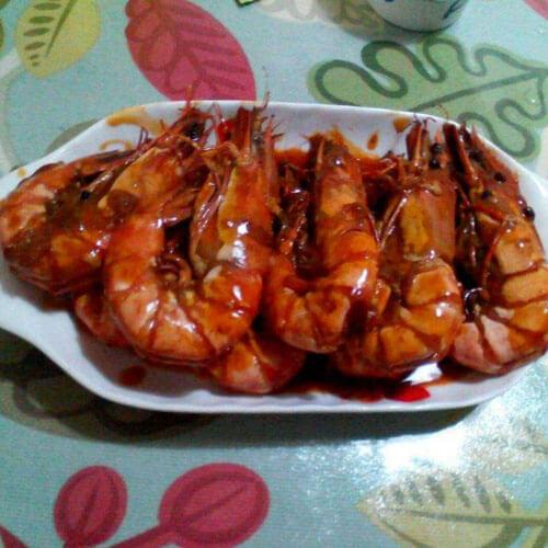 好吃的红焖大虾