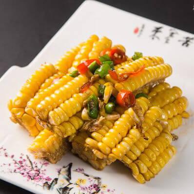 矮子的椒盐烤玉米