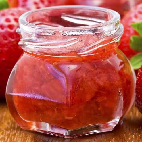 颜值高草莓酱