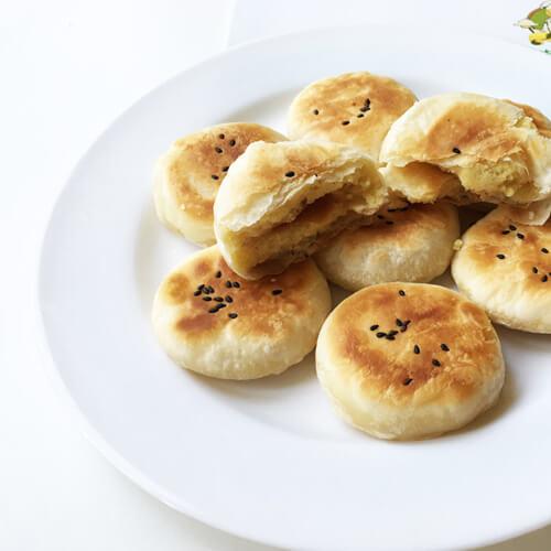 蜂蜜绿豆饼