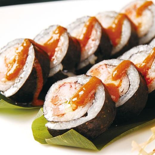 好吃的寿司-紫菜包饭