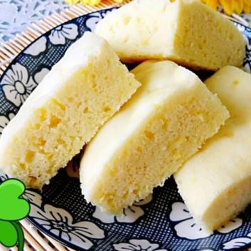 清柠檬蒸糕