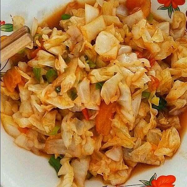 蚝油番茄圆白菜