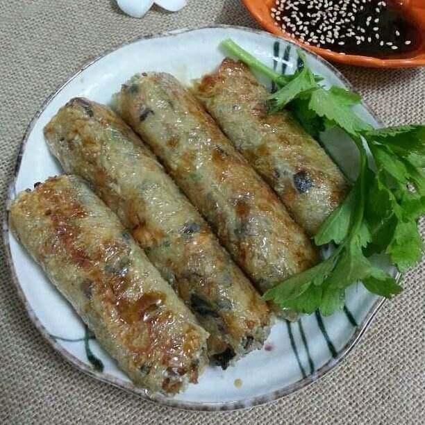 腐皮糯米卷
