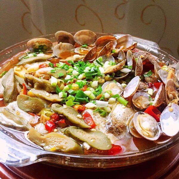 豆腐蒸杂鱼