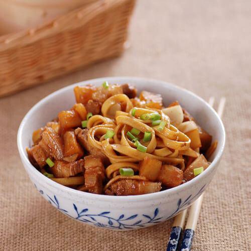 美味土豆炒面