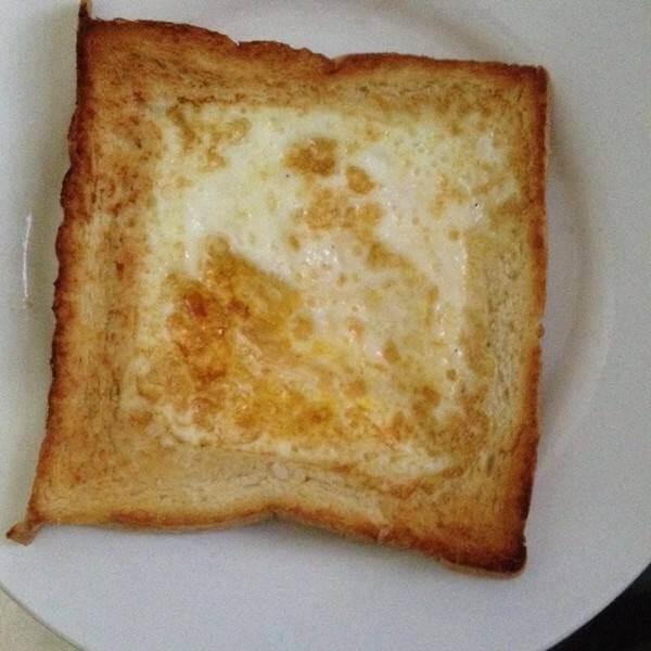 传统的孜然面包片
