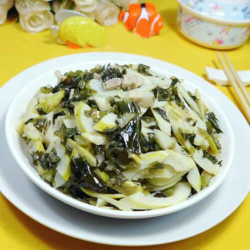 五花肉雪菜炒雷笋