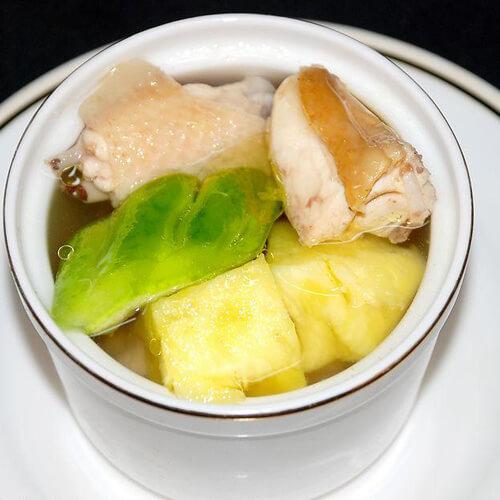 苦瓜炖土豆