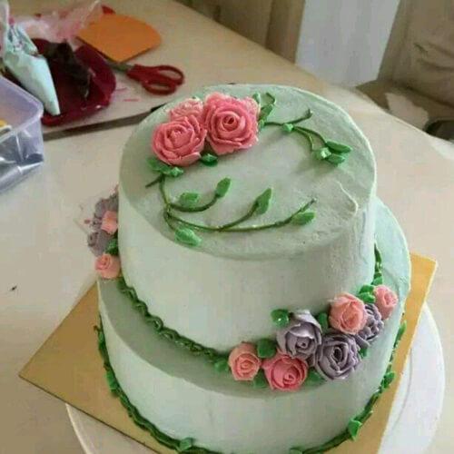 射手座奶油霜蛋糕