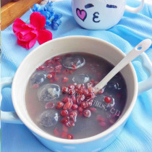 红豆水晶汤圆