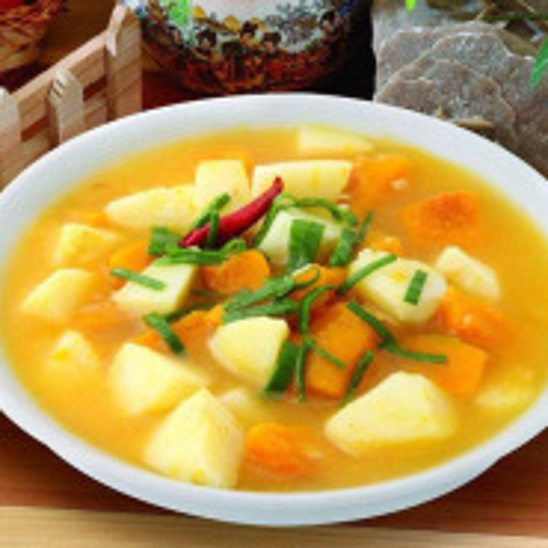美味的窝瓜炖土豆