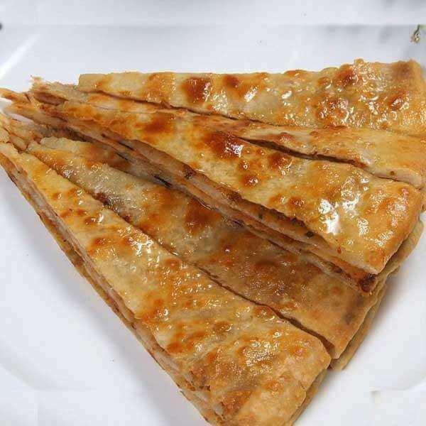 美味的香酥米饼