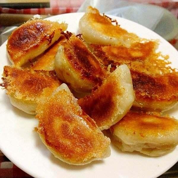 菌菇瘦肉煎饺