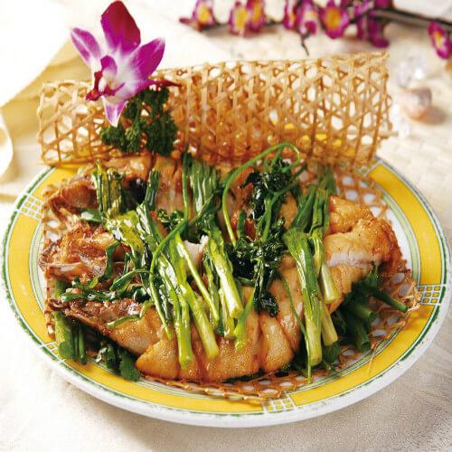 烤鲈鱼(酱香味)