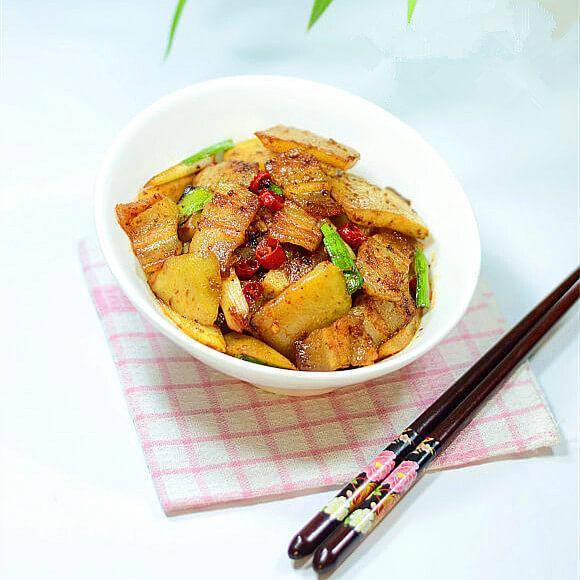 鲜榨菜回锅肉