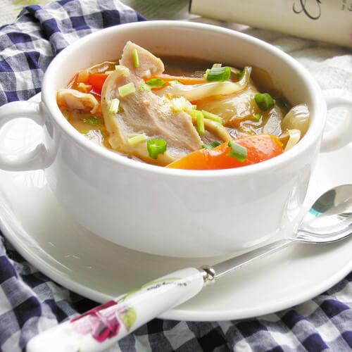 茨菰咸菜汤