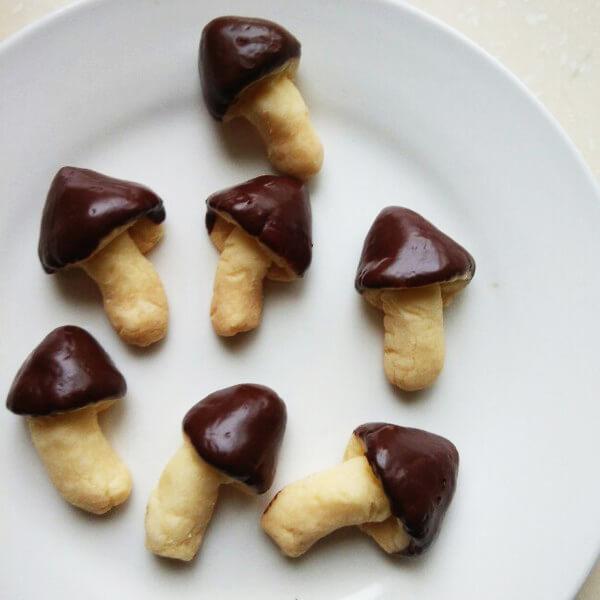 美味的蘑古力饼干