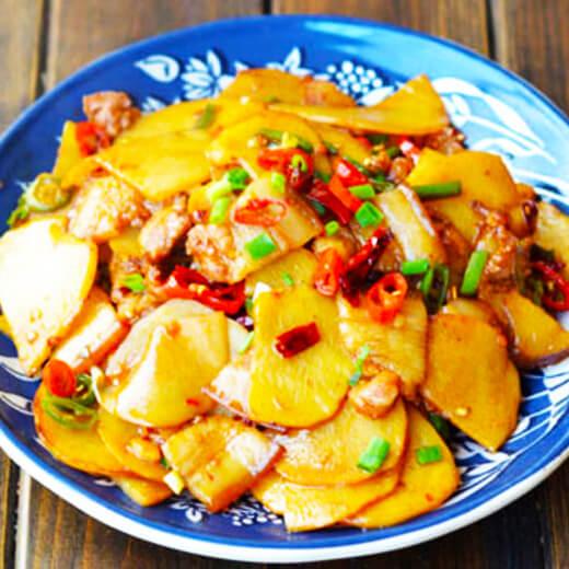 老干妈焖土豆片