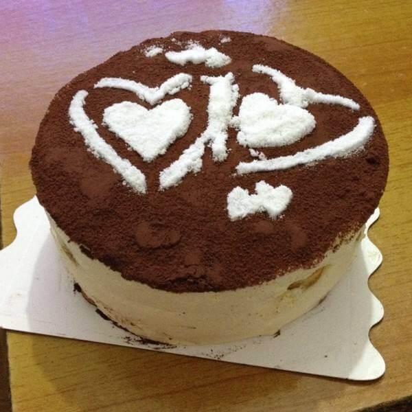 咖啡可可蛋糕