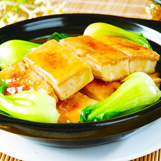香茜鱼丸豆腐煲