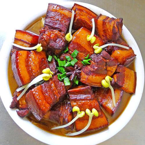 美味咸香红烧肉