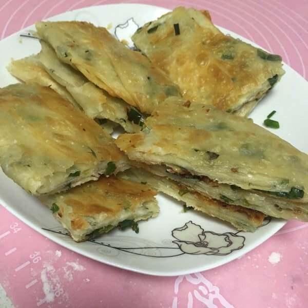 芝麻香葱千层饼