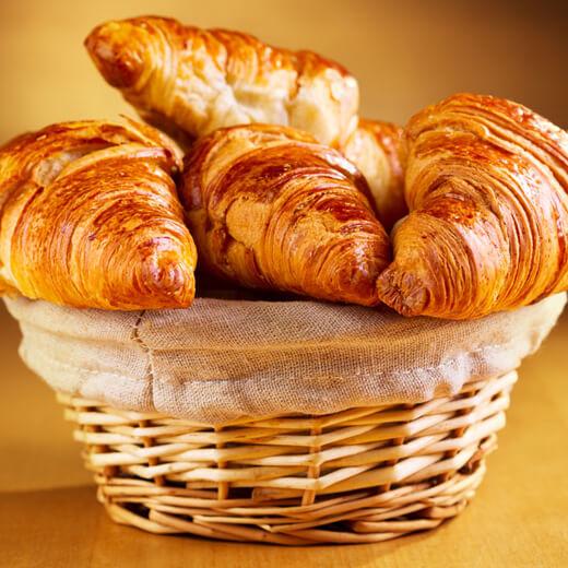 创意篮子面包