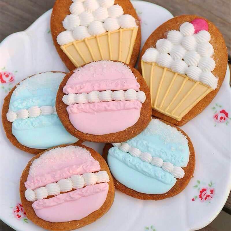糖霜罗马盾牌饼干~美味
