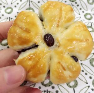 好吃的梅花蜜豆山药糕