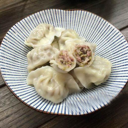 香椿猪肉水饺