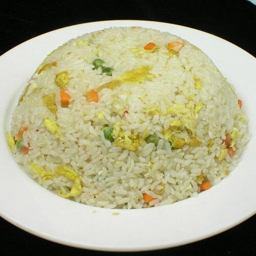 香肠玉米蛋炒饭